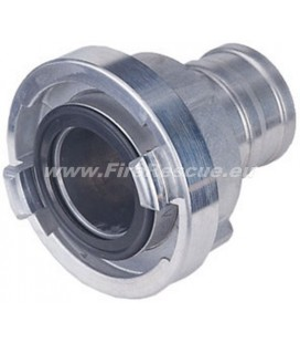 STORZ SUCTION COUPLING 75-B / Ø80 NOZZLE STAINLESS STELL